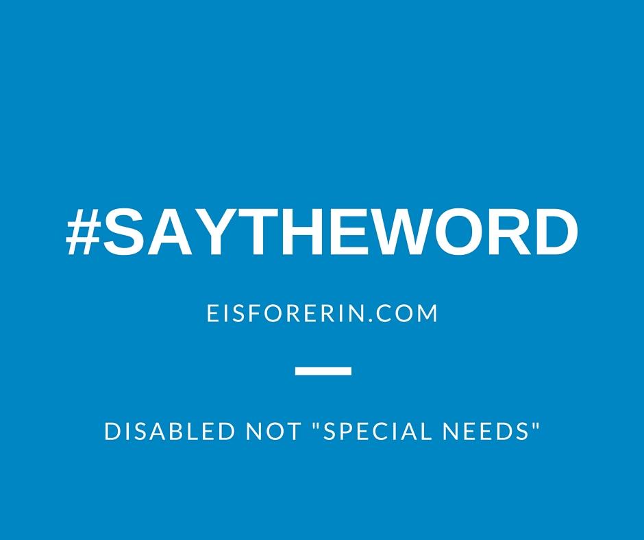 Special Needs Is Ineffective Euphemism >> The Segregation Of Special Ryan Boren
