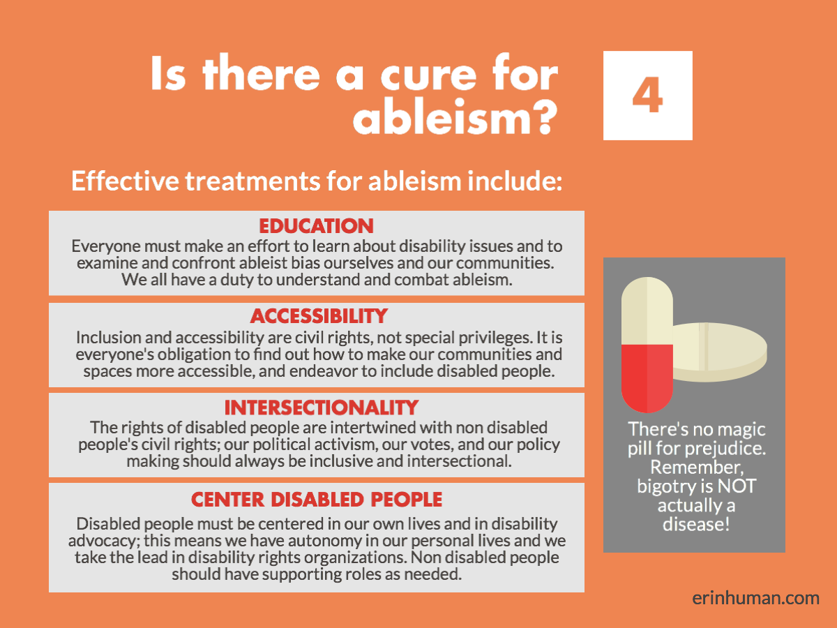 How to Fight Ableism as a Nondisabled Person